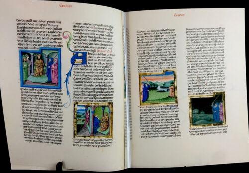 The Furtmeyr Bible - 1465 AD - Leather Facsimile