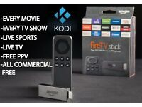 Amazon Fire TV Stick - New System, live sports, movies, tv shows! Save money on a SKY Subscription!