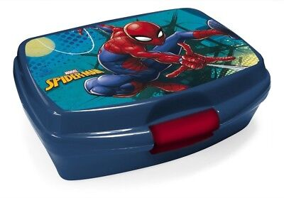Marvel Spiderman Brotdose Lunchbox Brotzeitbox Brotbox Dose Vesperbox Kind