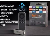 Amazon Fire TV Stick with Kodi 16.1 Firestick - FULLY LOADED Watch Sports, Movies and TV Shows