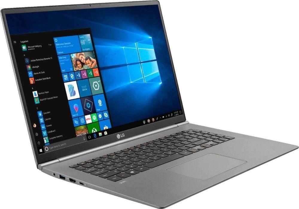 "LG gram 17"" 2560 x 1600/i7-8565U/16GB/512GB SSD/Dark Silver Laptop"