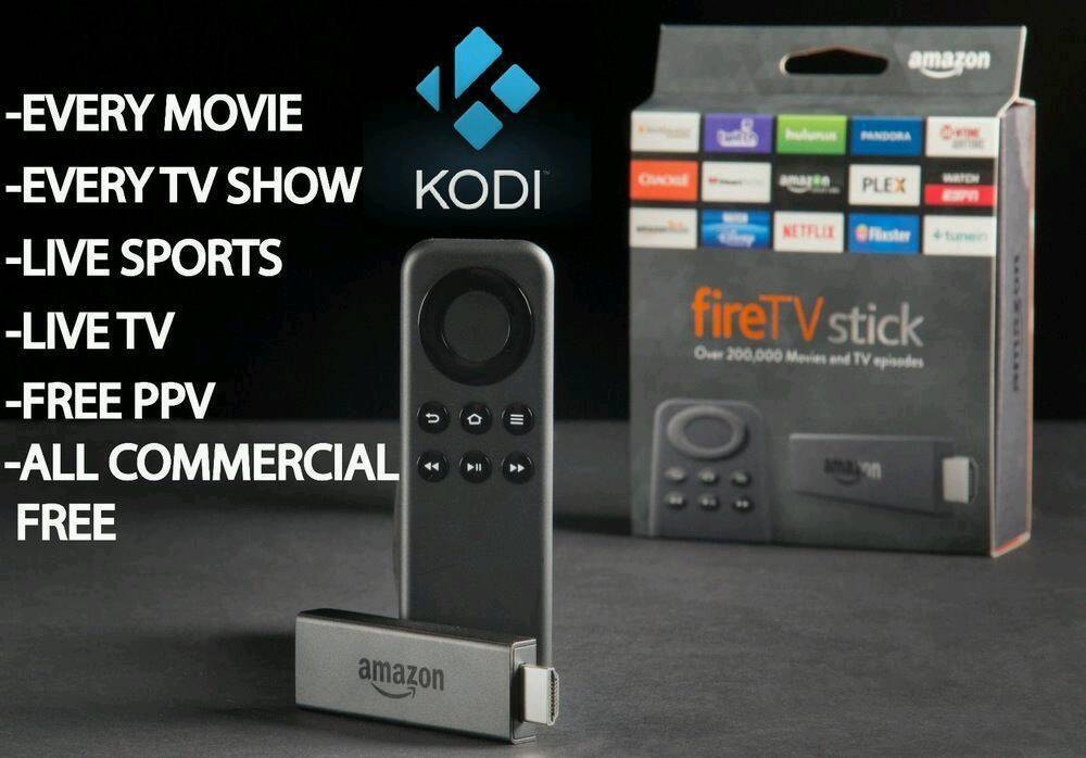 Amazon Firestick loaded with Latest Kodi