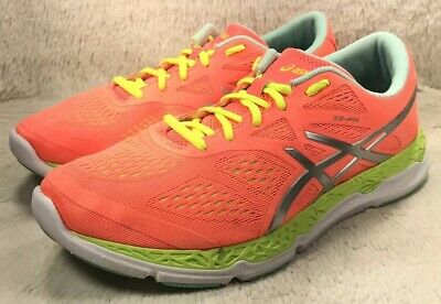 ASICS 33-FA Shoes Womens Pink Athletic Running Cross Training T583N Size 10 EUC