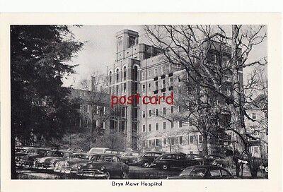 C1950  Bryn Mawr Hospital Pa Old Cars  Pub C  Seeman