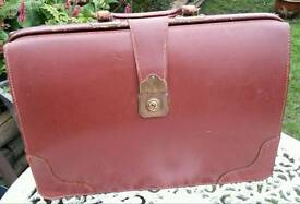 Vintage 'Cheney' Leather Doctor's Bag/Briefcase.