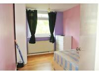 Available now! Massive double room with built in wardrobe close to West Kensington tube station!