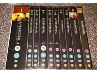 Supernatural Seasons 1 - 7