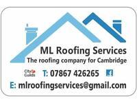 ML Roofing Services Cambridge