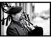 Piper for hire! Somerset wedding piper,Funeral Piper.. Ex Scots Guards, 36 years Piping experience