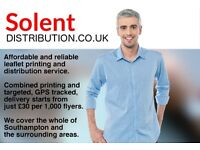 Leaflet Printing & Distribution - Solent Distribution