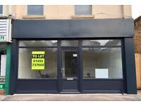 New Office / Shop To Let - 333 Holdenhurst Road, Bournemouth.