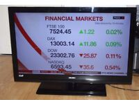 Bush 40 inch LED TV Full HD 1080p with Freeview