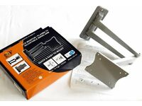 LCD TV / Monitor adjustable WALL BRACKET - up to 15kg load - boxed.