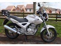 Honda cbf 250. 2007. 16,900 miles. Good condition. New tyres, battery, chain & sprockets