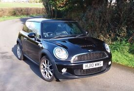 MINI Cooper S 1.6 Midnight Black with Chili Pack