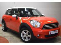 MINI COUNTRYMAN 1.6 COOPER D ALL4 4X4 Twin Sunroof Great Condtion (red) 2011