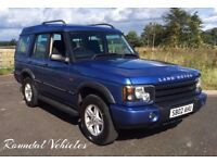 Discovery 2 Td5 GS 2002 Cornflower Blue metallic/grey interior Long Mot 2018 LOVELY SOLID BIG DISCO
