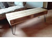 Rustic shabby chic pallet coffee table