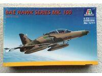 SEALED 1/72 ITALERI BAE HAWK Mk.100 JET FIGHTER AEROPLANE 2000 MODEL KIT SCALE PLASTIC RAAF AUSSIE