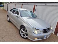 ** Cheap 2002 02 Mercedes CLK240 Avantgarde Se Auto Coupe **