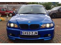 Bmw e46 m sport individual 330d 2004 3 series fully loaded!!!