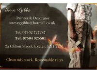 Painter & Decorator/Signwriter/Guilder