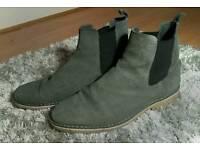 Danish Grey Chelsea Boots
