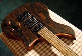 Ricky Barlow protype custom guitar USA