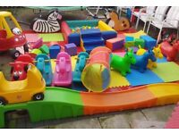 BOUNCY CASTLE AND SOFT PLAY HIRE FROM £50!