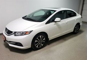 2013 Honda Civic EX | Rmt start | Htd Seats | Camera | 56MPG