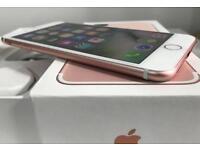 iPhone 7Plus 32GB Rose Gold locked on EE.