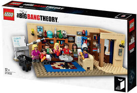 BRAND NEW DISCONTINUED Lego Ideas 21302 The Big Bang Theory