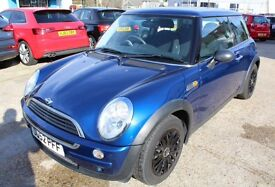 AUTOMATIC MINI ONE VERY VERY LOW MILEAGE AIR CONDITIONING SERVICE HISTORY AUTO MINI ONE COOPER S