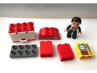 LEGO DUPLO FIGURE & BRICKS USED