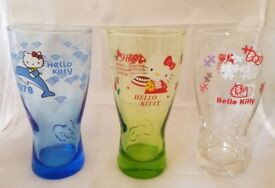 Hello Kitty Glass Tumblers