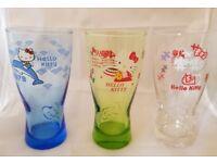 Hello Kitty Glass Tumblers