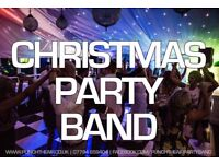 Christmas Party Live Band available to hire in 2017