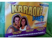 Karaoke Party Console for Sony PlayStation 2, 2003 game present house clearance