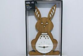 Children's Clocks Kids Bedroom Rabbit Clock