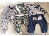 3 Baby Clothes Sets - 3-6months