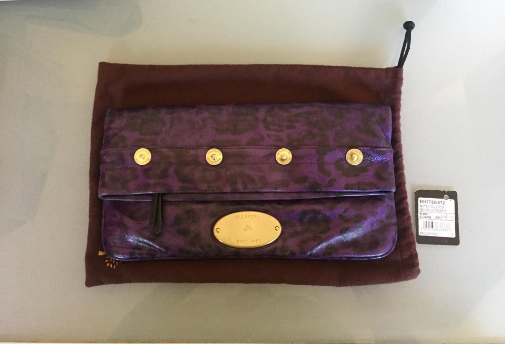 f535470fe8 Mulberry Mitzy Clutch Handbag with Tags