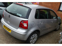 VW POLO 1.2 5 DOOR 2005 LOW MILEAGE AND LONG MOT