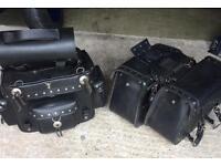 Leather pamper set