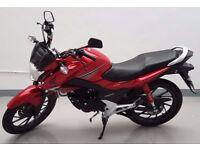 2016 HONDA CB125 CB125F CB125 F CB 125F LEARNER LEGAL MOTOR CYCLE 125cc ONLY 900 MILES !!! HONDA FSH