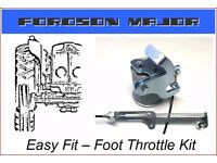 FORDSON MAJOR TRACTOR FOOT THROTTLE KIT, Easy fit,comes with full step by step fitting instructions