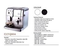 Q004 BEANS TO CUP COFFEE MACHINE FULLY AUTOMATIC FRESHLY GROUND COFFEE