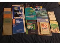 GCSE , English and literature books £ 5 for all