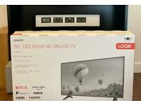 55inch 4K smart HDR TV brand new