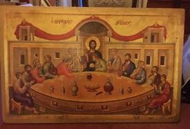 Large Icon Picture of the last supper