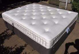 4000 pocket spring&memory foam top quality Queen size double bed from Sterling Furniture